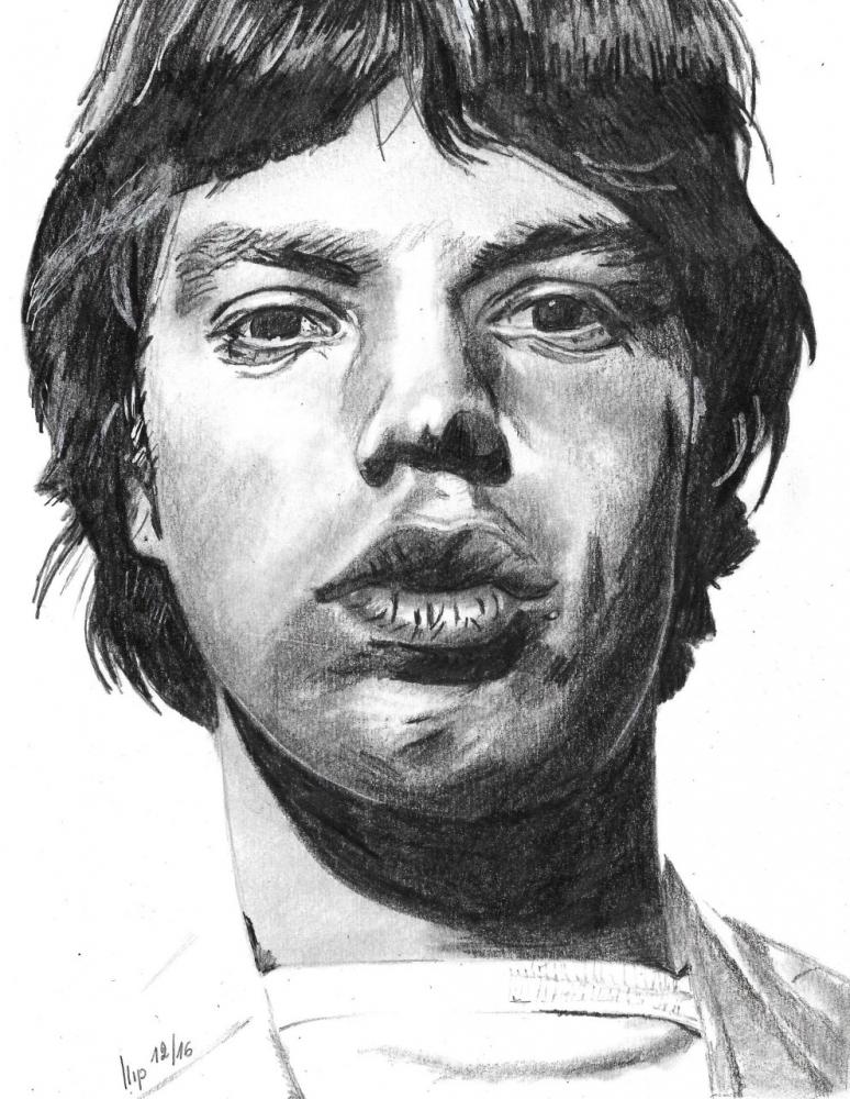 Mick Jagger by patrick